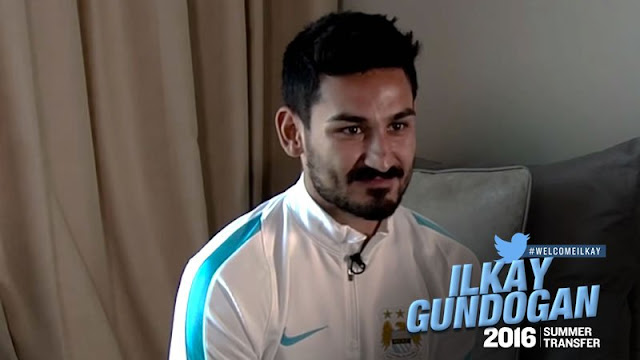 OFICIAL: Gundogan é o 1° reforço do Manchester City na era Guardiola