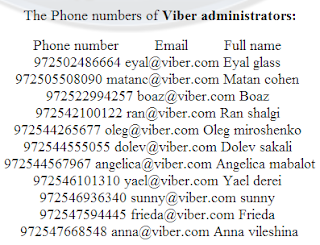 Viber data leaked, Viber got hacked, Viber database hacked, Viber site defaced