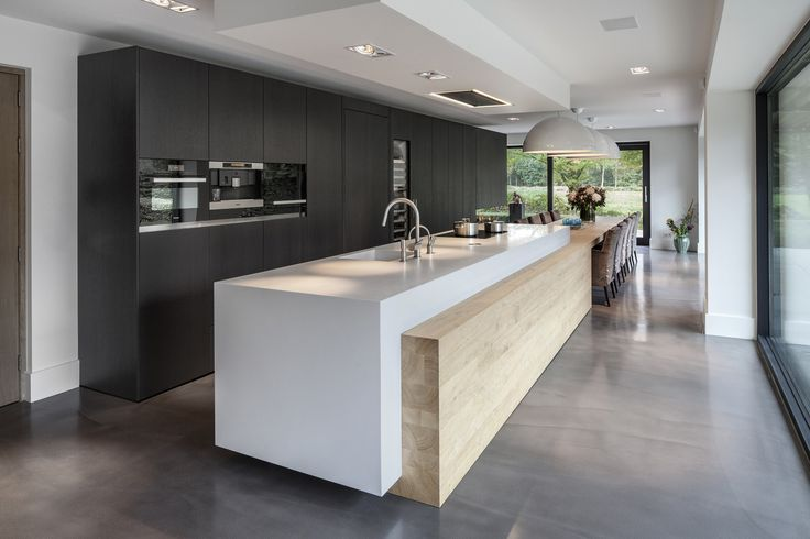Bien connu cuisine blanc design » Photos de design d'intérieur et décoration  QQ19