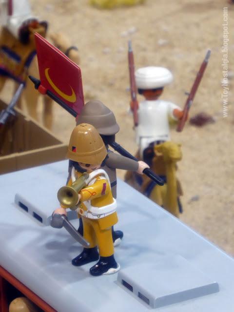 """Diorama Playmobil """"Lawrence de Arabia""""  (Cocheras de Sants - 2019)"""