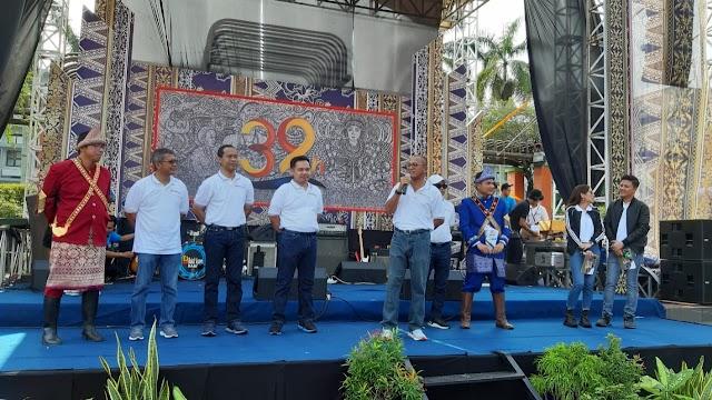 Fun Walk Berlangsung Meriah di Acara HUT PTBA Ke-39