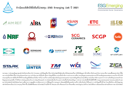 THAIPAT Releases 2021 ESG Emerging List<br /><i>With 15 Durable Stocks over COVID Showdown Highlighted</i>