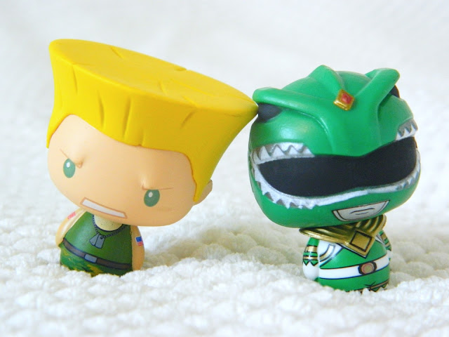 Toys for a Pound haul- two funko pint size hero figures