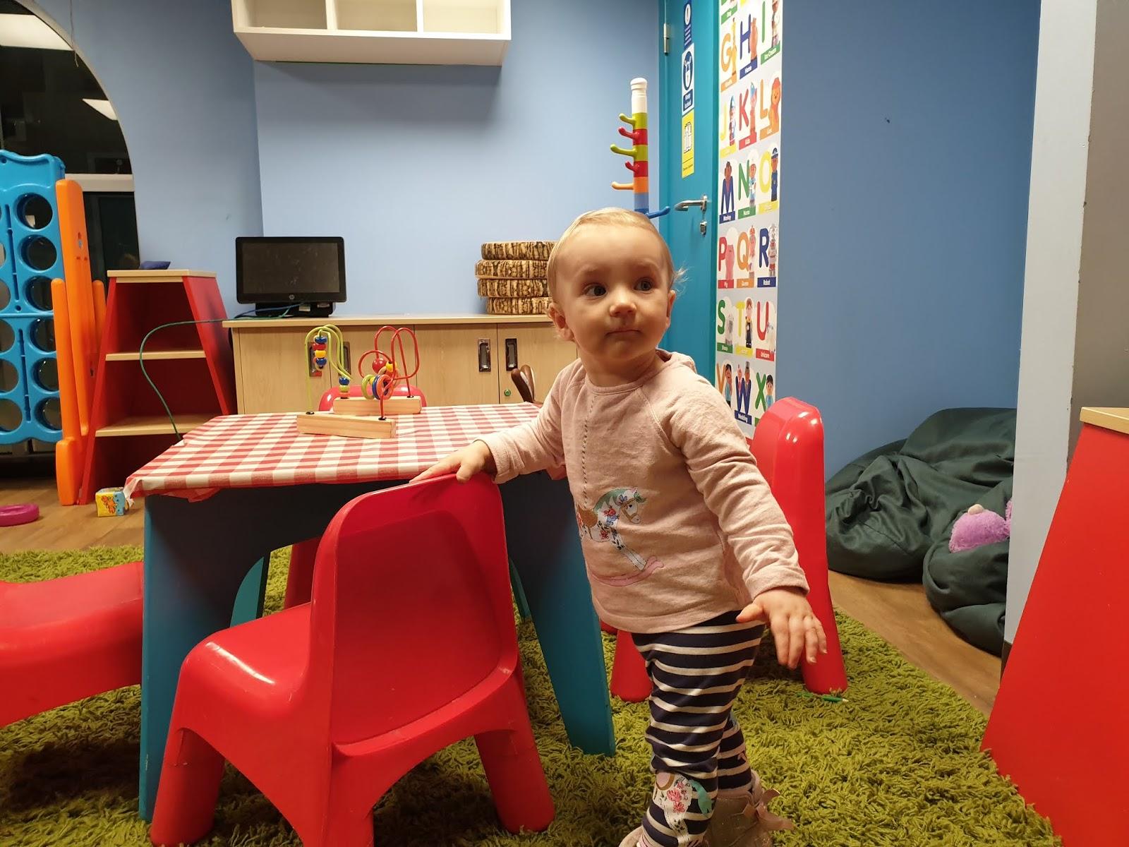 kidzania baby room