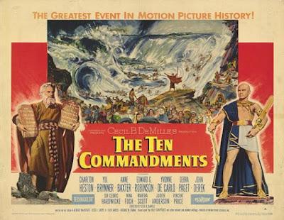 Poster Los diez mandamientos