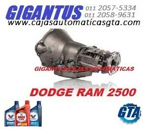 SERVICIO PARA CAJA AUTOMATICA DODGE RAM ACEITE ATF+4