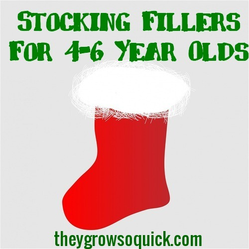 Stocking fillers for 4 to 6 year olds