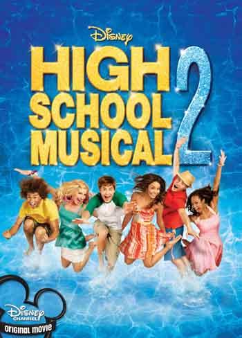 High School Musical 2 2007 480p 300MB BRRip Dual Audio