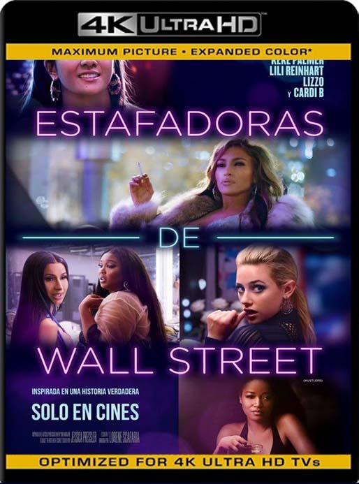 Estafadoras de Wall Street (2019) 4K 2160p UHD [HDR] Latino [GoogleDrive]