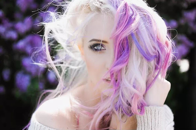 trendy Colored hairstye
