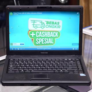Laptop Toshiba Satellite L510 Second di Malang