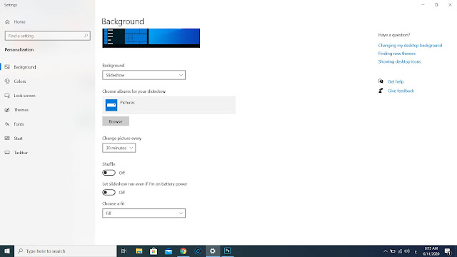 How to View a Slide Show in Windows 10