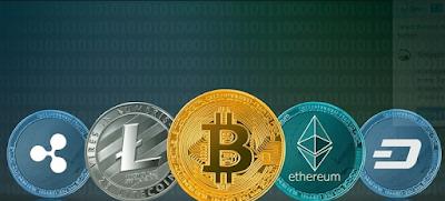 mata uang digital cryptocoin