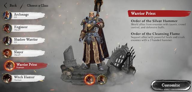 Warhammer odyssey warrior priest guide