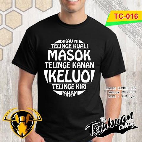 Tembuan Clothing - TC-016 (Dikau Ni Telinge Kuali)