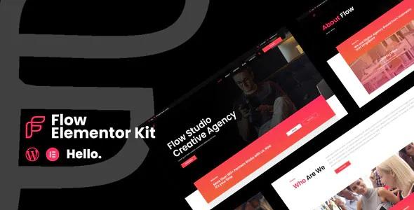 Best Creative Agency Business Elementor Template Kit