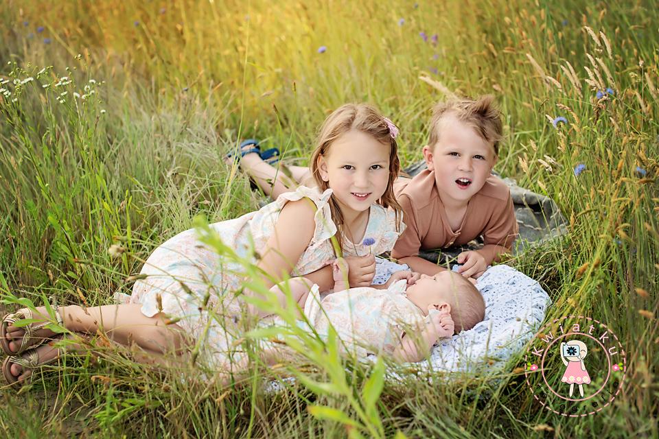 Rodzeństwo sesja rodzinna