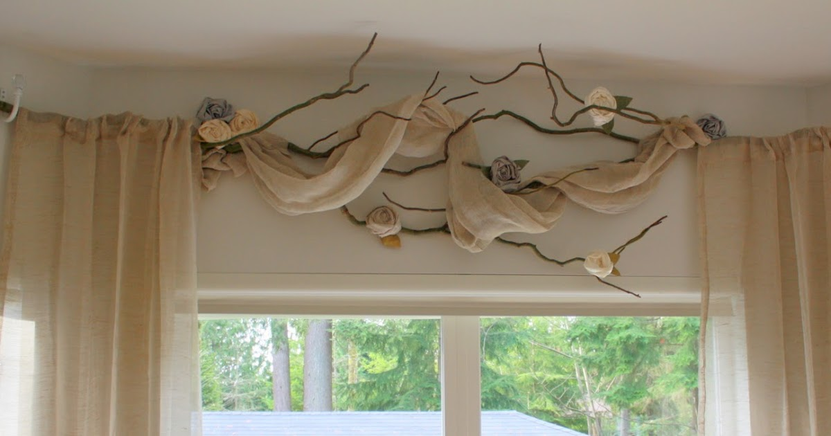 Cricket Nest Decor Willow Branch Curtains