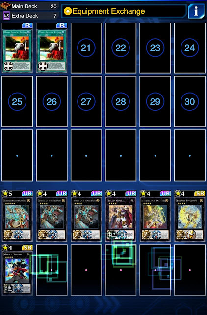 Deck Noble Knight 2020