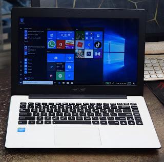 Jual Laptop ASUS X453M White ( 14-Inch ) Malang