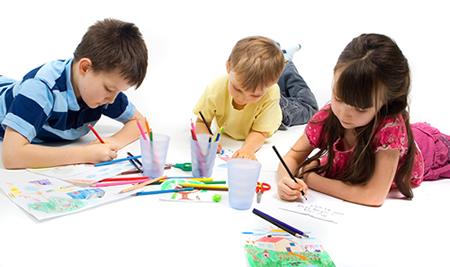 Sobre Colores: El color en la infancia