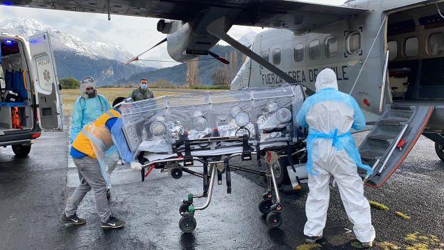 Evacuación aeromédica