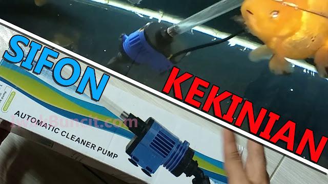 Sifonnya Bisa Nyedot Sendiri? Review Cleaner Pump RECENT AAHC 18500: Menguras Aquarium Jadi Lebih Menyenangkan