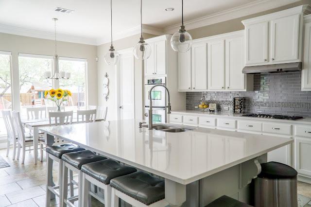 The white kitchen palette