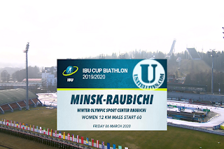 IBU Cup Biathlon Eutelsat 7A/7B Biss Key 6 March 2020