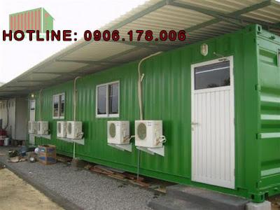 Bán container văn phòng tái chế