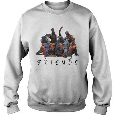 Godzilla Company Friends Hoodie, Godzilla Company Friends Sweatshirt, Godzilla Company Friends Shirts
