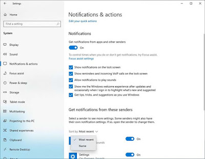 Microsoft Sedang Melakukan Perbaikan Pada Fitur Notifikasi Windows 10