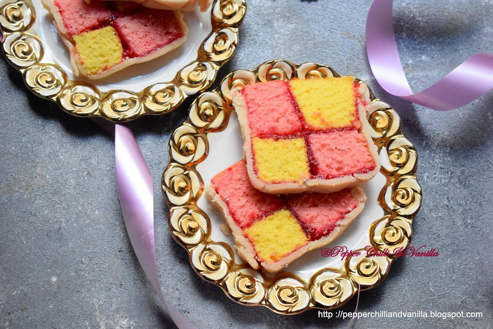 british battenberg cake.british battenburg cake