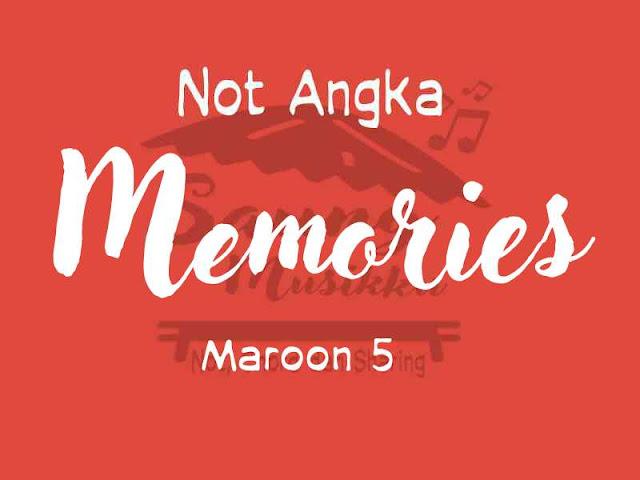 Not memories maroon 5