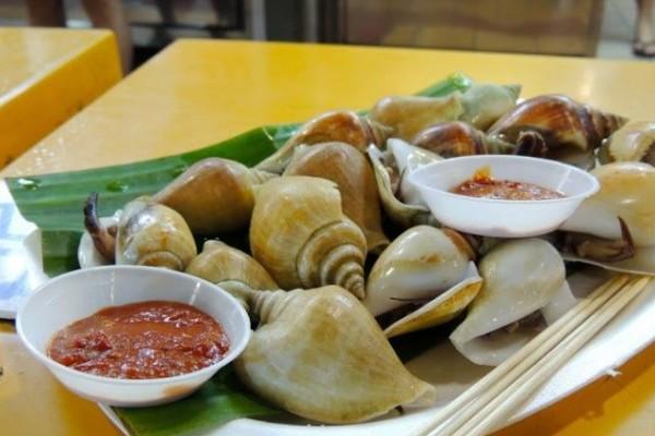 Gonggong Seafood Khas Kepulauan Riau