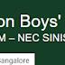 Bishop Cotton Boys' School, Bangalore Wanted Teachers