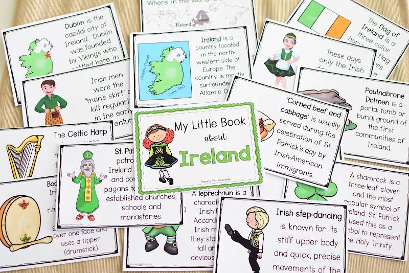 Ireland Country Study: Little Book (Pre-K and Kindergarten)
