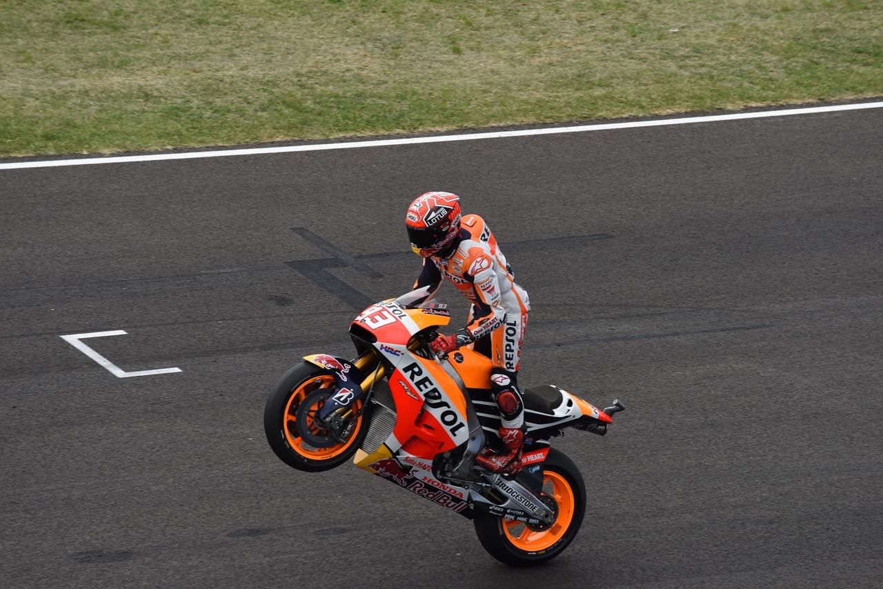 Five fantastic facts about MotoGP bikes