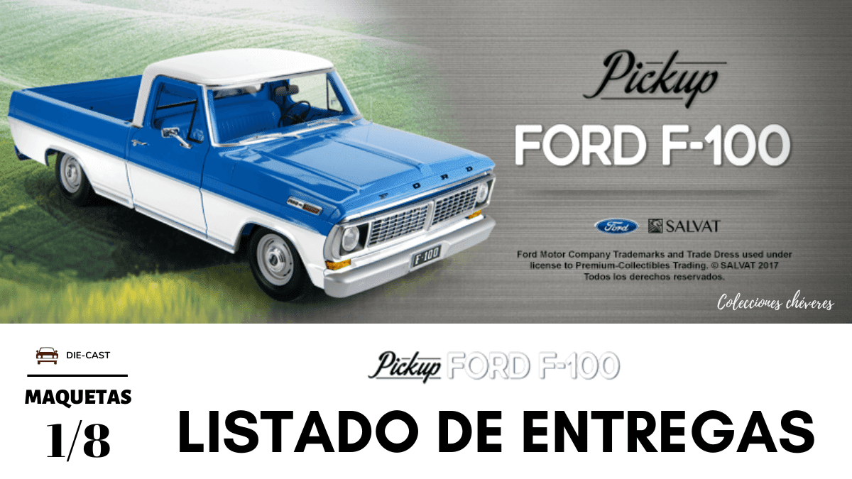 Ford F-100 1/8 Salvat