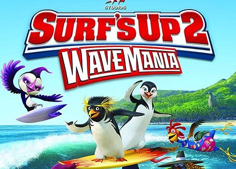 Download Surf's Up 2: WaveMania (2016) Dual Audio [Hindi+English] 720p + 1080p WEB-DL ESubs