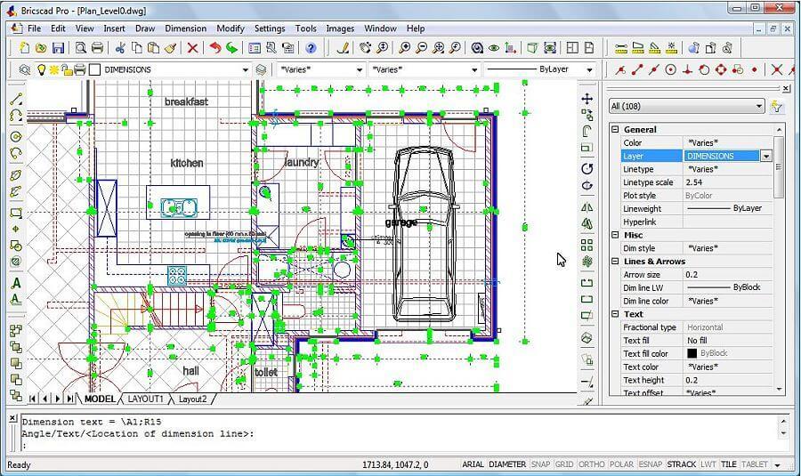 برنامج BricsCAD Platinum 19.2.14.2 للتصميم ثنائي و ثلاثي الابعاد بسهولة