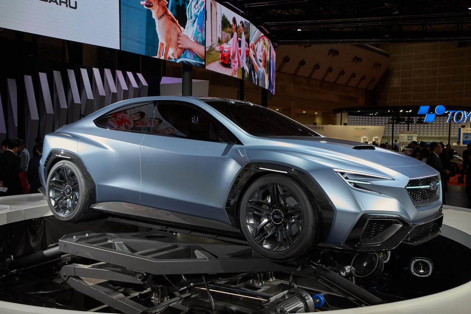 Subaru Says Next Wrx Will Look Like Viziv Concept Carscoops