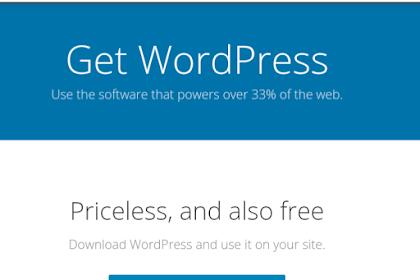 Cara Membuat / Install Blog Wordpress Self Hosting