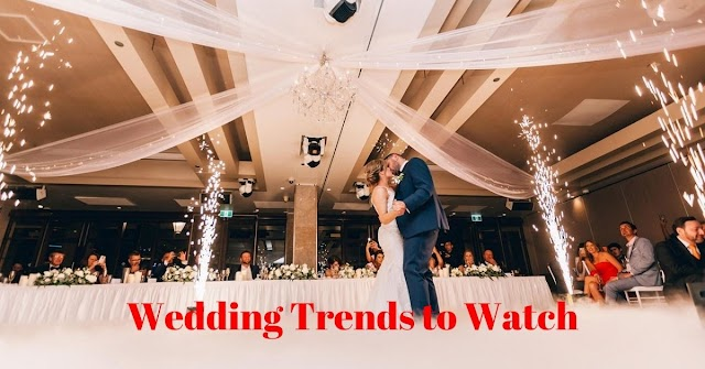 Top 11 New Wedding Trends to Watch for in 2020