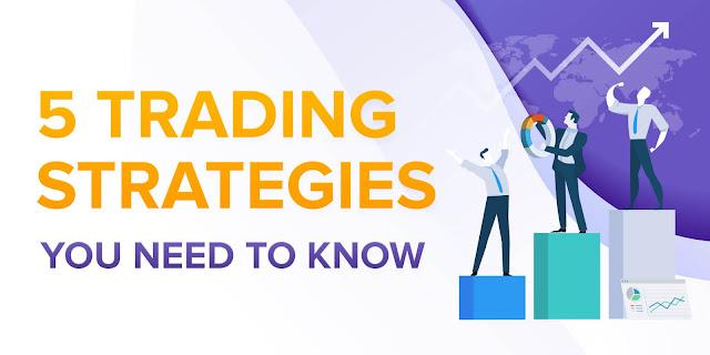 5 استراتيجيات التداول الأكثر شيوعا التي تحتاج إلى معرفتها