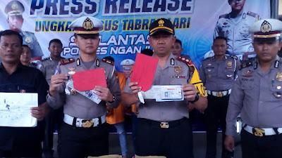 Dua DPO Sopir Tabrak Lari Ditangkap Polisi