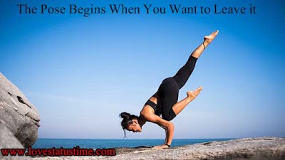 Inspirational Quotes For Yoga Class Whatsapp Status