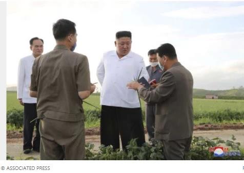 North Korea's Kim Jong-UN says Typhoon Bavi caused little damage, state media