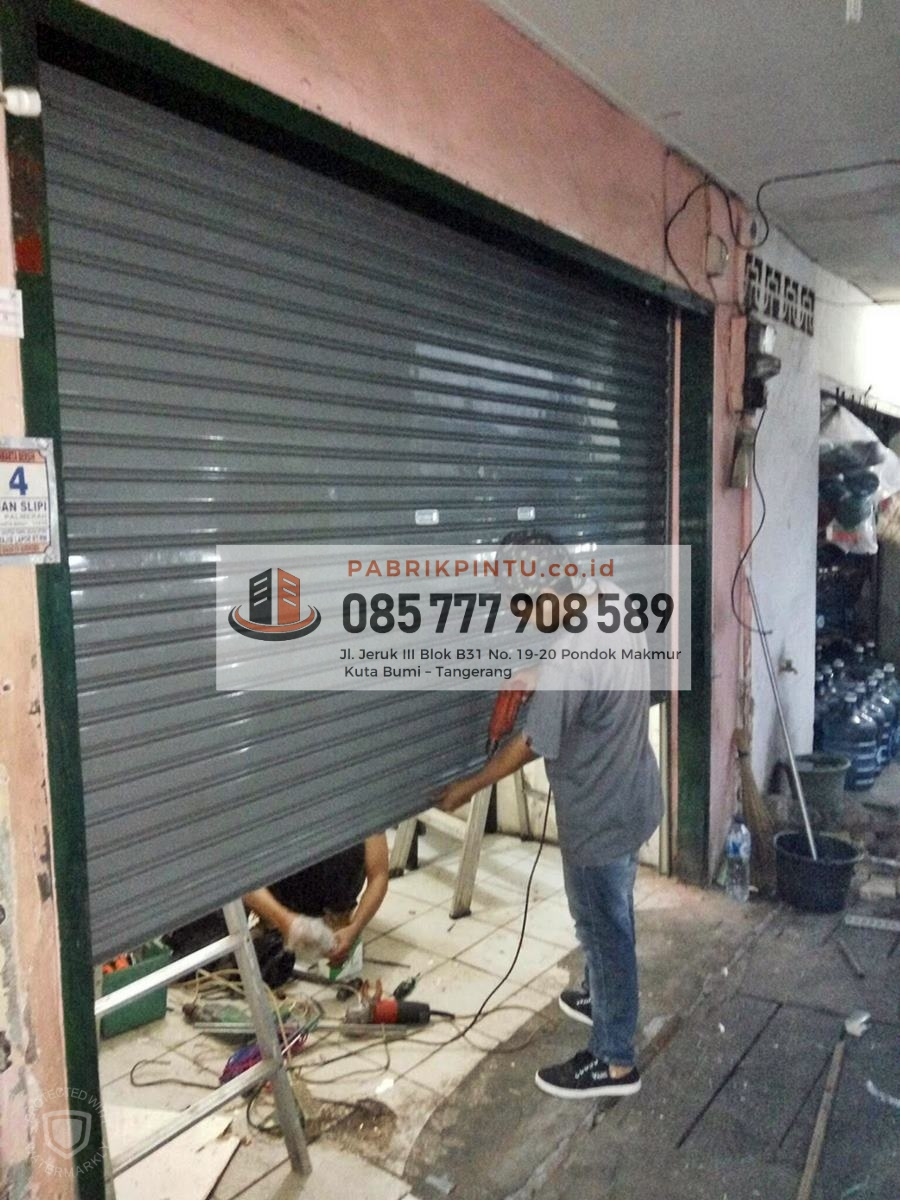 Toko Baja Ringan Di Cirebon Jual Rolling Door Manual Lipat Otomatis Harga 2019
