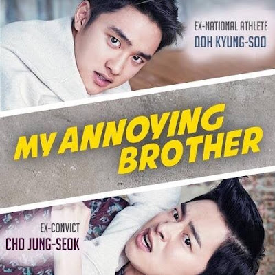 Review Drama Korea My Annoying Brother, Korean Movie Review By Miss Banu, Jo Jung Seok, Doo Kyung Soo, Park Shin Hyr,